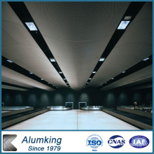 Bobine en aluminium revêtue de résine pour plafond