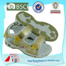 Bling мода детские спортивные девушки модные сандалии обувь с Русалочка
