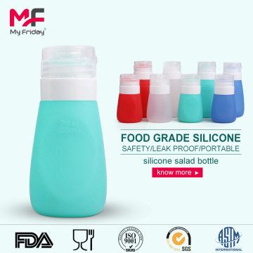 Silicone+Salad+Squeezable+Travel+Bottle