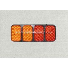Lumière de camion LED orange et rouge (HY-73AARR)