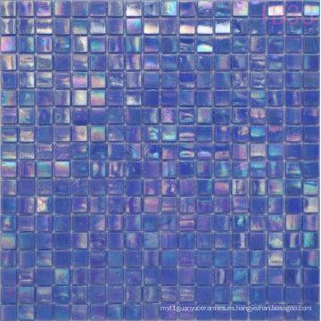 Material de construcción Mosaico Iridium Blue