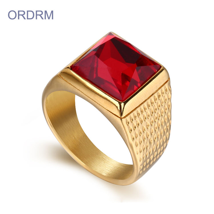 Gold Plated Rings Mens