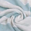 Tecido de malha de malha grossa de linho agulhado multicolorido