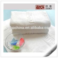 Serviette de bain Jacquard Serviette en coton personnalisée de haute qualité personnalisée