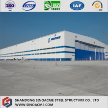 Heavy Steel Structure Building as Airplane Hanger