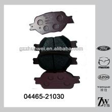 China Auto peças de alta qualidade da almofada de freio para TOYOTA 04465-21030