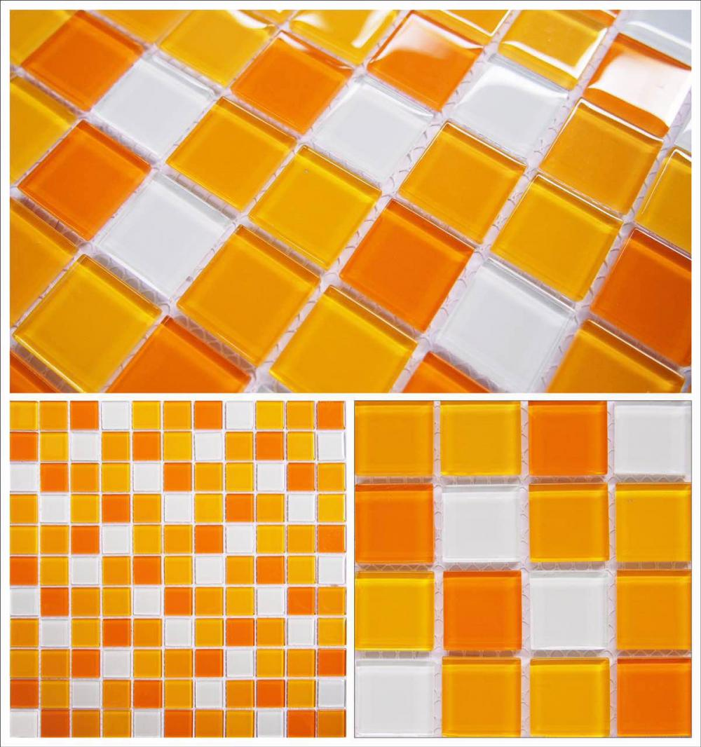 Classic Mixed Color Glass Mosaic