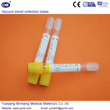 Tubos de la colección de la sangre del vacío tubo de Sst (ENK-CXG-024)