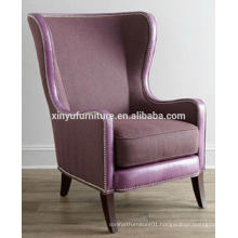 Modern wing back arm sofa chair XYD452