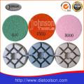 Coussin de polissage de diamant 75mm pour béton