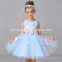 New design cheap hot sale lace flower girl dress patterns