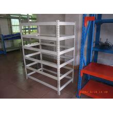 estanterias de carga de estante de metal en ángulo ESD