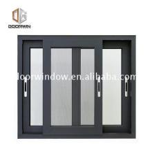 Индийский стиль скользящего окна дизайн решетки алюминиевого стекла замок