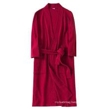 Hooded new design quality hotel bath robe