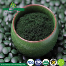 USDA Certified Organic Green & Blue spirulina powder