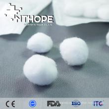 barato producto médico quirúrgico vistiendo bolas de algodón púrpura