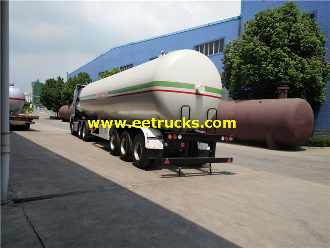 14000 Gallons LPG Gas Trailer Tankers