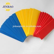 JINBAO azul hojas de plástico delgada pvc espuma forex bordo para muebles