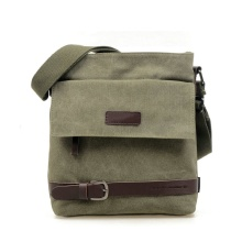 Herren Canvas Crossbody Military Messenger Sling Umhängetaschen