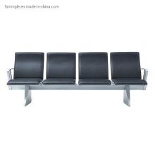 Polyurethane Foam Waiting Chair with Aluminum Design for Hospital