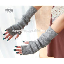 OEM High Quality Women Pure Cashmere Gloves