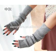 Luvas de caxemira pura para mulheres OEM de alta qualidade