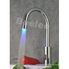 LED Self-Powered Bibcock Automatic Senor Kitchen Faucet