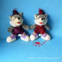 Фаршированная одежда животных мышь игрушка