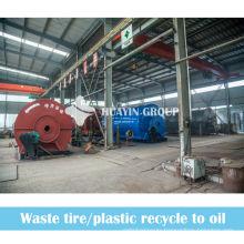 XinXiang HuaYin 8/10T Waste Tire/Tyre Oil Refining Plant/Machine