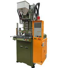 Standard two colors vertical injection molding machine