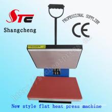 Apartamento simples calor imprensa máquina plana t-shirt calor transferência máquina impressão da transferência térmica máquina Stc-SD09