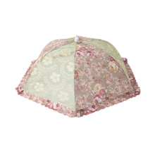 DEQI Recycle Mesh Food Covers Tent Umbrella for Outdoor Kitchen Collapsible Food Net Cover Custom