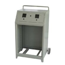Bewegliche Powder Coating Trolley Industry Distribution Shield