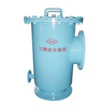 T Type Filtre de filtre Pipelines Dépose de solides