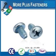 Fabriqué en Taïwan Trilobular Thread Rolling Tapping Screw