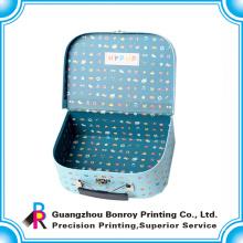 Фабрика Китая подгоняли новый дизайн логотипа печать картонный чемодан
