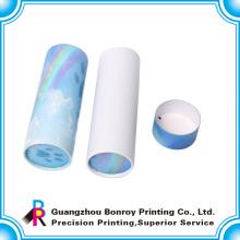 Коробка круглая картонная упаковка с бесплатным дизайн в Китае