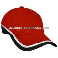 Hochwertige heiße Verkauf Golfkappen mit flacher Stickerei