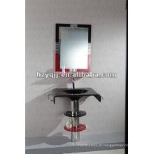 Lavatório de vidro de banheiro de lavatório de parede