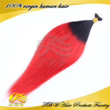 made in China hot selling unprocessed ombre tape 100% Brazilian tape hair extensions