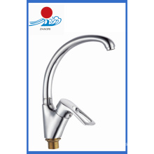 Hot and Cold Water Single Handle Kitchen Faucet Mixer Tap (ZR21109-A)