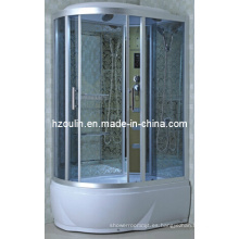 Cabina de lujo completa del cubículo de la caja de la casa de la ducha del vapor (AC-58-118)