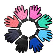 Reinigung Silikon Haustier Handschuh für Hunde und Katzen