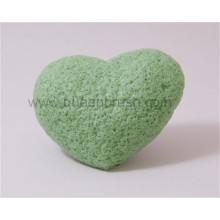 Wholesale Heart Shape Dry Konjac Sponge