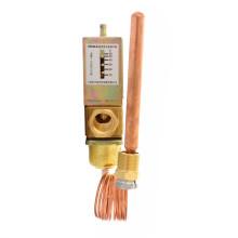temperature control water flow capacity valve