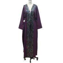 Floor Length Party Wedding Gown Jalabiya Women Dress