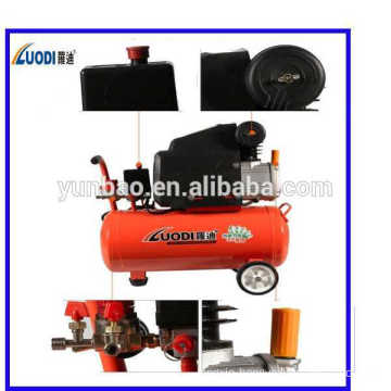 Portable piston direct driven air compressor for sale 24L, 2.5HP with CE,ROHS