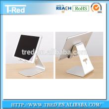 Soporte de escritorio de aluminio de la tableta del teléfono móvil, soporte de succión micro de Nano montado en el escritorio