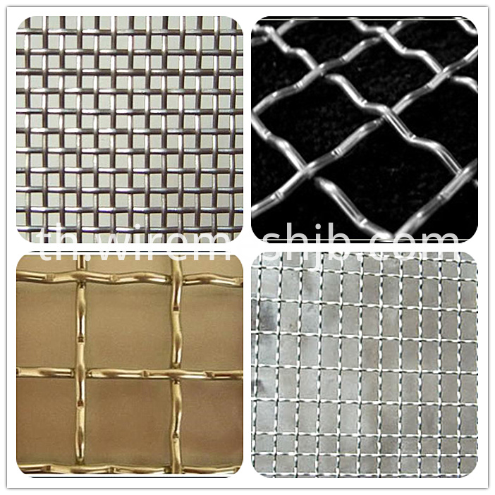 Galvanized crimped mesh