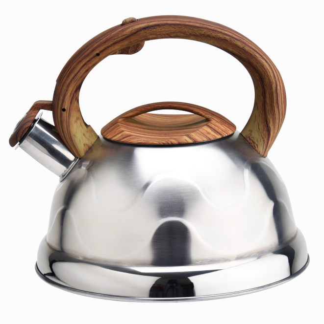 Stovetop Hot Water Teakettle Wooden Handle 389